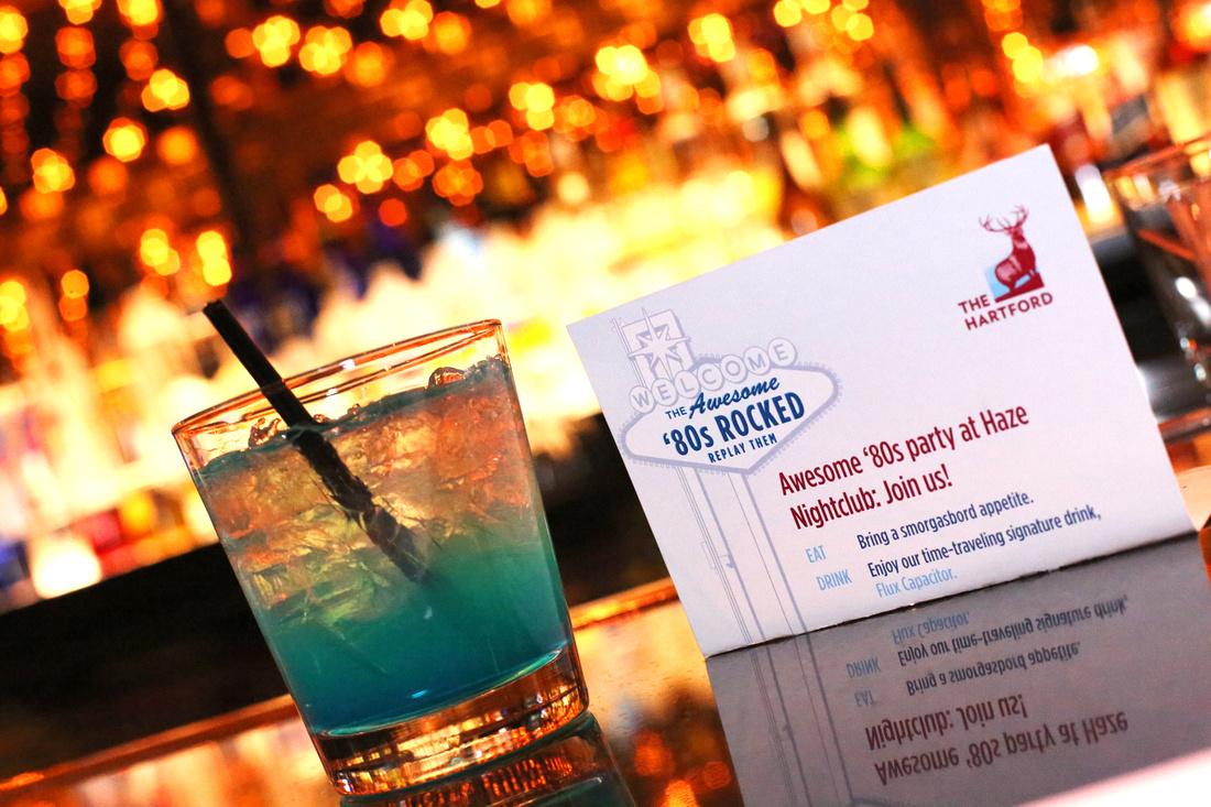 Corporate branding nightlife club party