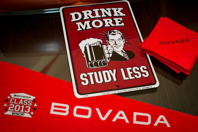 college frat house party Bovada online poker