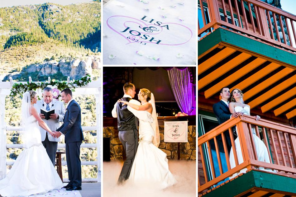 Wedding portfolio collage