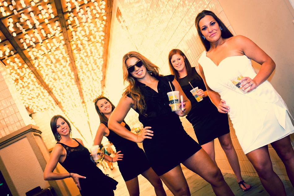 Downtown Fremont St Bachelorette Party
