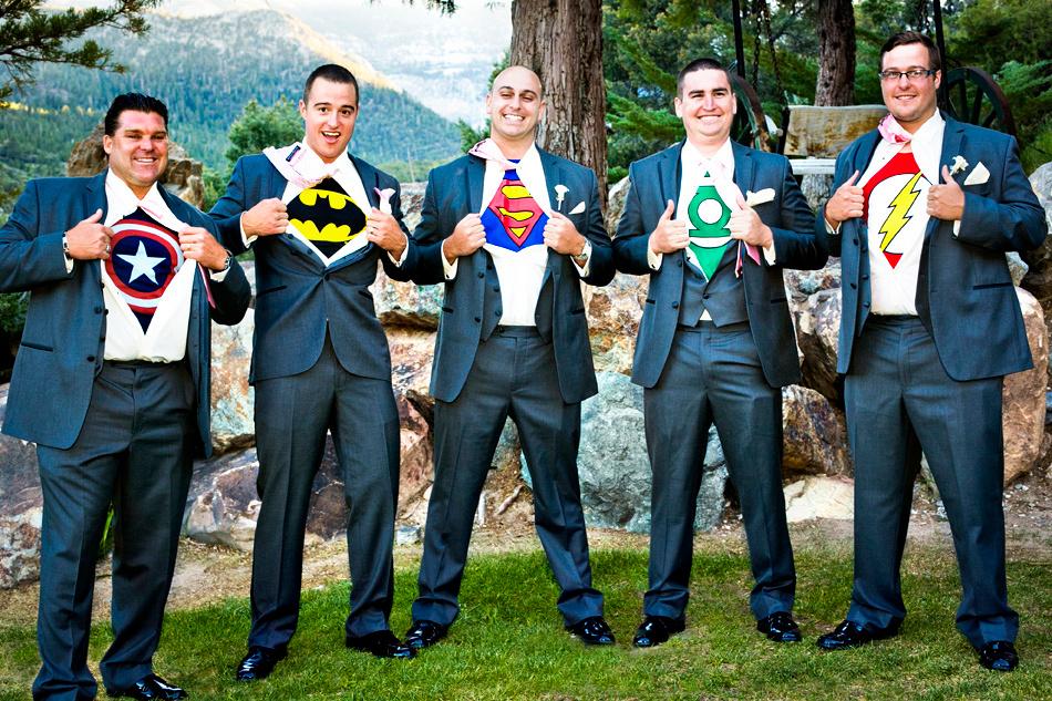 Superfriends Justice League Groomsman Superhero