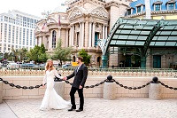 Paris Las Vegas Wedding Photographer