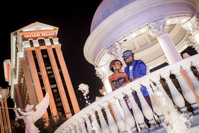 Wedding Photos at Caesars in Vegas