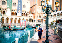 Vegas Strip Photo Shoot Walking Tour at the Venetian. Wedding Photography.
