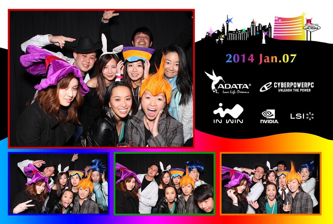 CES Convention Photo Booth Las Vegas