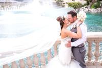 Photographer for wedding photo shoots on the Vegas Strip