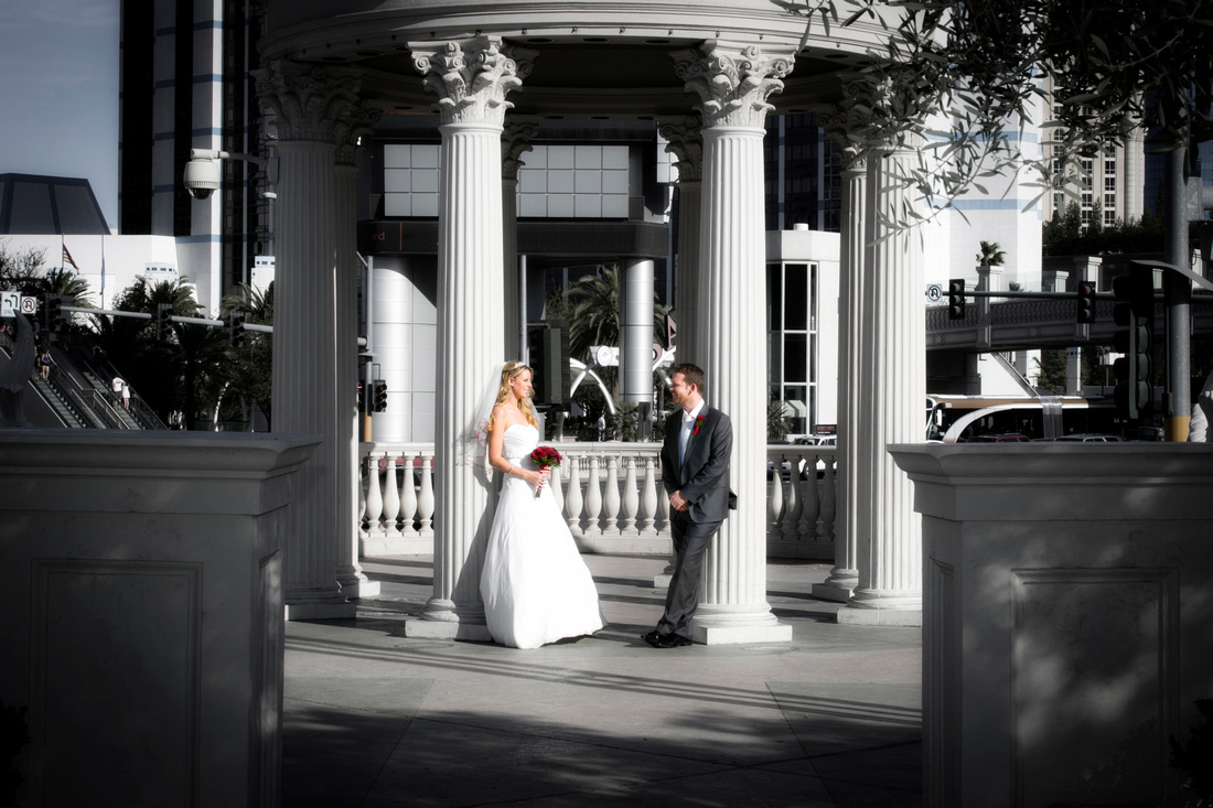 Caesars Palace Wedding Photography Las Vegas