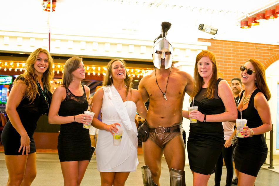 Bachelorette Party Downtown Las Vegas Fremont St