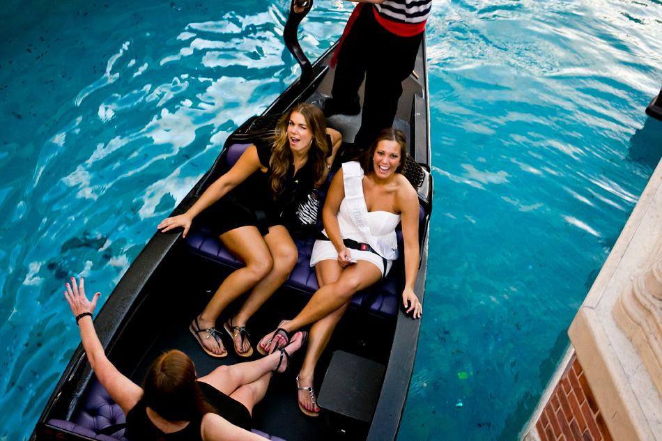 Bachelorette Party Gondola Ride Venetian