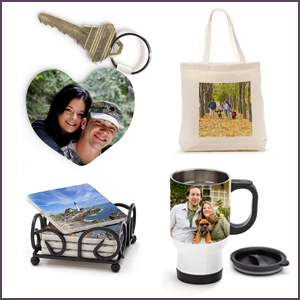 Order photo products right from the gallery.