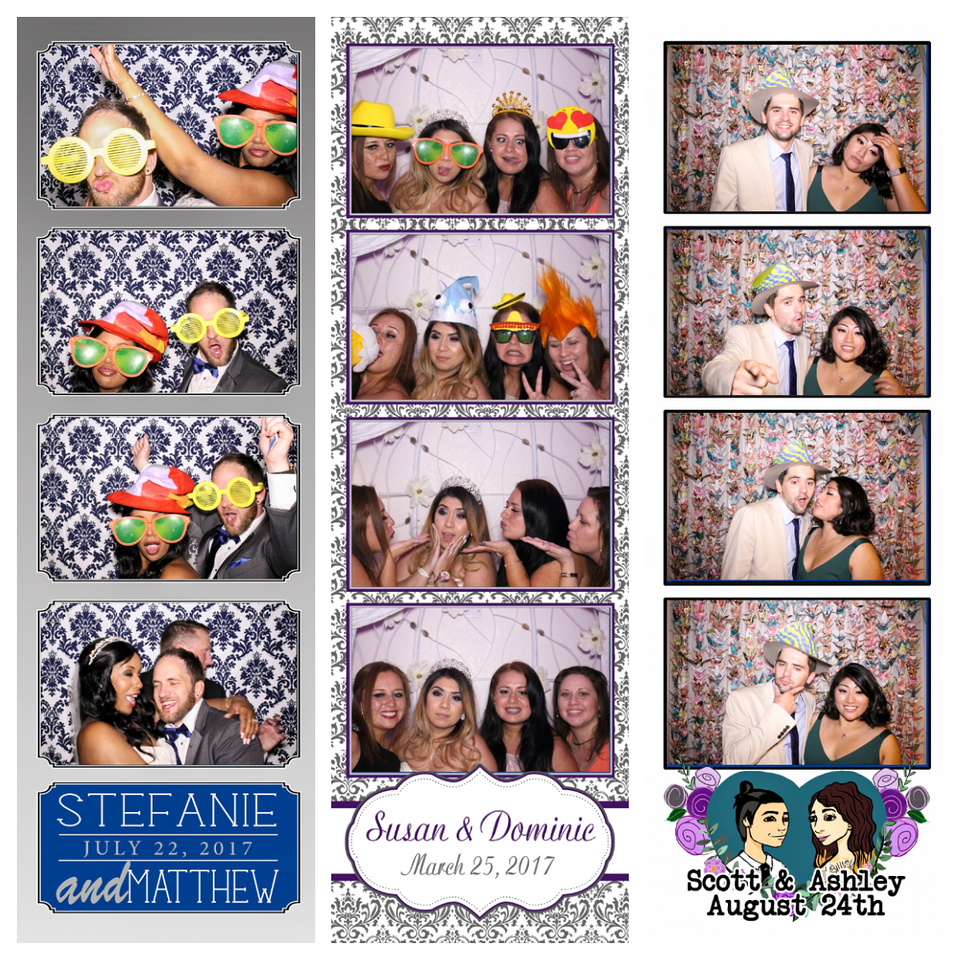 photo booths weddings las vegas