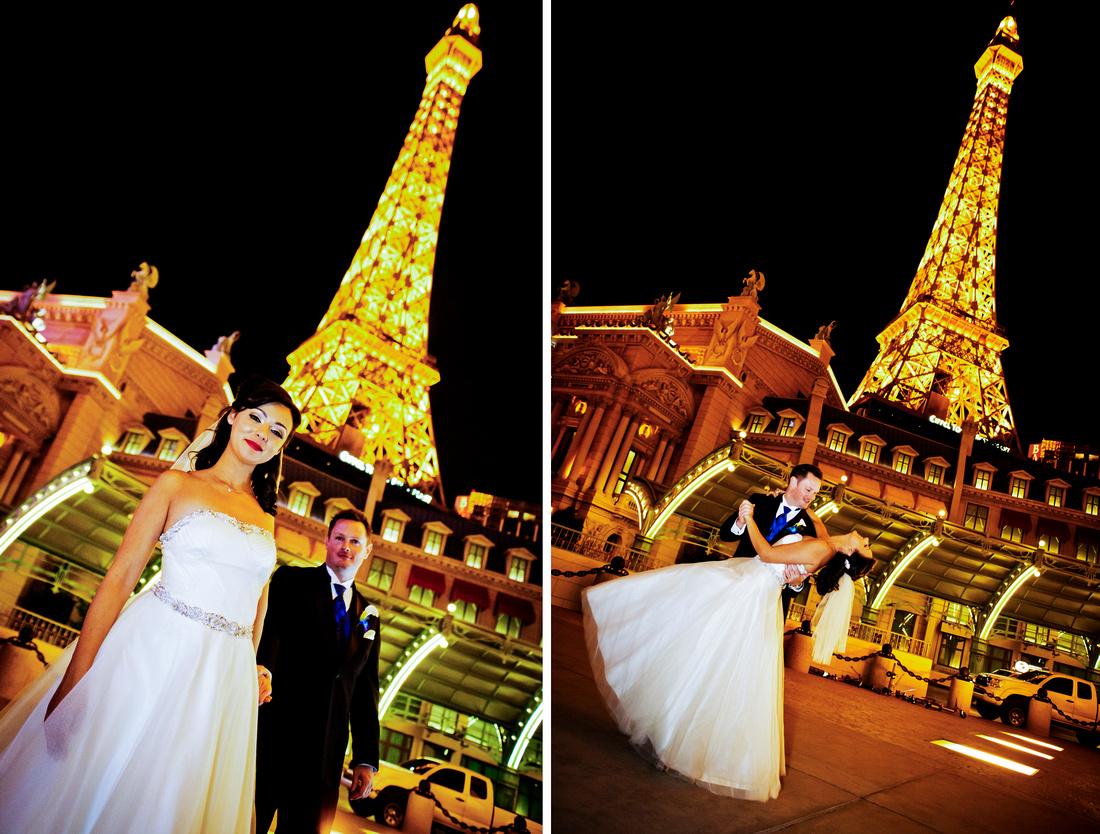 Tour of Las Vegas' Hotspots for a Glam Wedding.