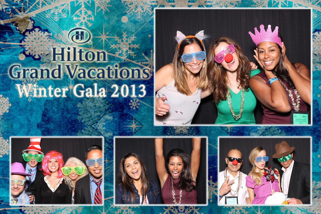 Event Photography and Photo Booth Rentals for Corporate Company Holiday Party.