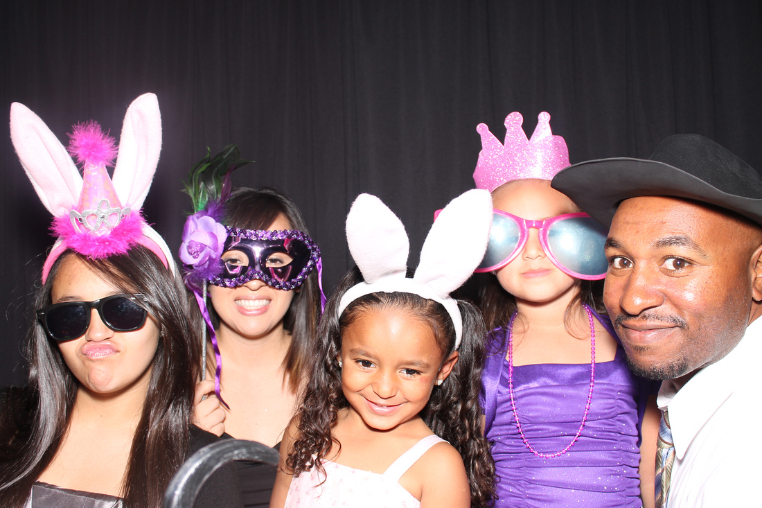 Las Vegas Photo Booth Rental at Fiesta de Quinceañera